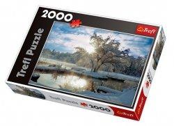 TREFL Puzzle 2000 el. Poranek nad jeziorem (27044)
