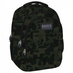 Plecak szkolny młodzieżowy Back UP klasyczne moro MORO (PLB1H54)