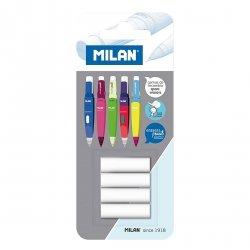 Gumki zapasowe do ołówków automatycznych Milan CAPSULE (BTM10299)