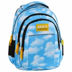Plecak szkolny młodzieżowy BackUP NIEBO (PLB2H32)