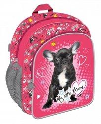 Plecak przedszkolny, wycieczkowy MY LITTLE FRIEND, Piesek (41604)