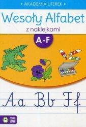 Wesoły alfabet z naklejkami A-F (35729)