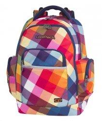 Plecak szkolny młodzieżowy COOLPACK BRICK pastelowa krata, CANDY CHECK (82478CP)