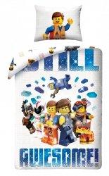 Komplet pościeli pościel LEGO THE MOVIE 2 140 x 200 cm (LEGO-213L)