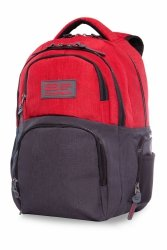 Plecak CoolPack AERO czerwony, MELANGE RED (B34091)