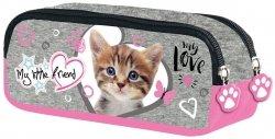 Piórnik saszetka My Little Friend CAT PINK Kotek w różu (04999)
