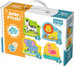 TREFL Puzzle BABY Zwierzątka na safari (36073)