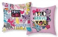 Poszewka na poduszkę 3D My Little Pony Kucyki 40 x 40 cm (MLP18)