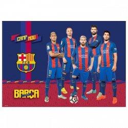 Podkład oklejany na biurko FC BARCELONA (POBC)