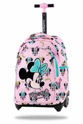 ZESTAW 3 el. Plecak CoolPack JACK na kółkach Myszka Minnie, MINNIE MOUSE PINK (B53302SET3CZ)