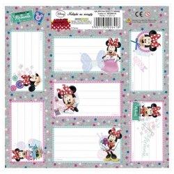 Nalepki na zeszyty Myszka Minnie (NNZMM)