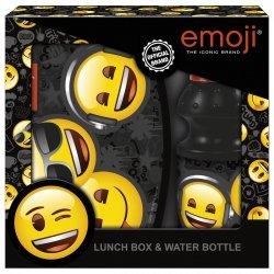 Zestaw bidon i śniadaniówka w kartoniku Emoji EMOTIKONY (ZSBEM10)