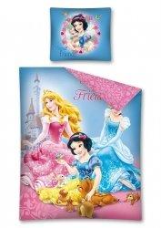 Komplet pościeli pościel Princess Księżniczki 160 x 200 cm (PRI06DC)