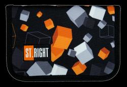 Piórnik St.Right bez wyposażenia w kostki, CUBES PC03 (21987)