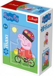 TREFL Puzzle miniMaxi 20 el. Świnka Peppa (21002)