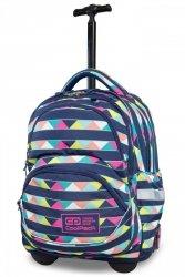 Plecak CoolPack STARR na kółkach w kolorowe pasy, CANCUN (B35101)
