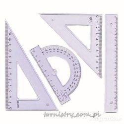 Zestaw kreślarski geometryczny, PRATEL (PRA2005)