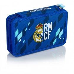 Piórnik dwukomorowy Real Madryt bez wyposażenia (503018008)