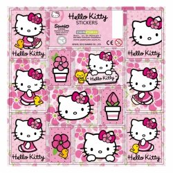 Nalepki ozdobne HELLO KITTY (NZHK)