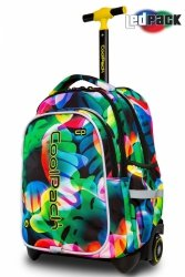 Plecak CoolPack JUNIOR na kółkach w kolorowe smugi RAINBOW LEAVES (96799)