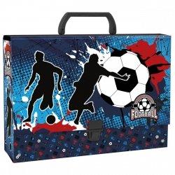 Gruba teczka z rączką FOOTBALL Piłka nożna (TRGPI01)