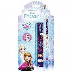 Zestaw 4 przyborów szkolnych Frozen KRAINA LODU (ZPS4KL19)