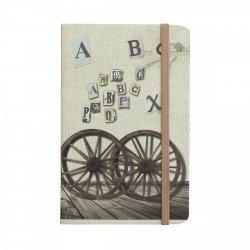 Notes na gumkę A6 ALFABET (925007)