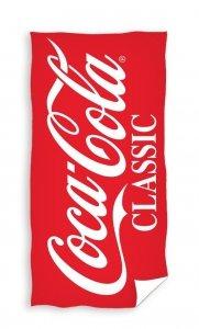 Ręcznik plażowy kąpielowy Coca Cola 70 x 140 cm (COLA195024)