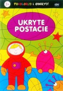 Kolorowanka pokoloruj i odkryj UKRYTE POSTACIE (56119)