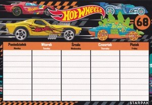 Plan lekcji STARPAK Hot Wheels (382138)
