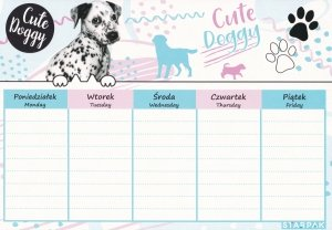 Plan lekcji CUTIES Pieski psy z psami (409084)