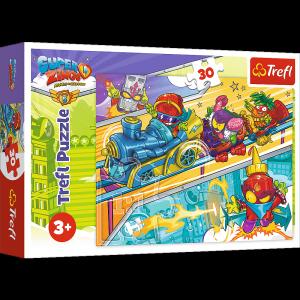 TREFL Puzzle 30 el. SUPER ZINGS - w pogoni za przygodą! (18272)