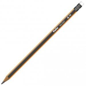 Ołówek techniczny trójkątny z gumką 12 szt VanGraf HB PATIO (51958PTR)