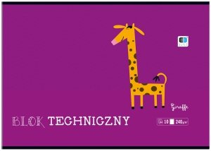 Blok techniczny A4 BB Kids 10 kartek (36906)