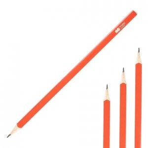 Ołówek kwadratowy TREND HB Malinowy HAPPY COLOR (42874)