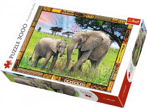 TREFL Puzzle 3000 el. Sawanna (33067)
