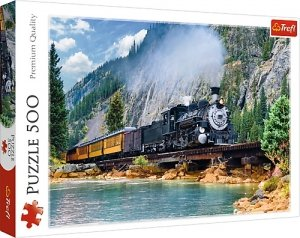 TREFL Puzzle 500 el. Górski pociąg (373798)