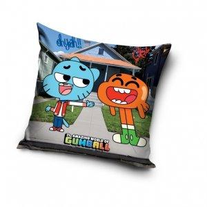 Poszewka na poduszkę Niesamowity świat Gumballa 40 x 40 cm (GUM161015)