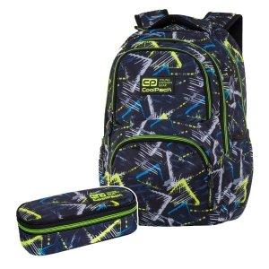 ZESTAW 2 el. Plecak CoolPack DART 27 L trójkąty, VIGO (C19149SET2CZ)