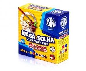 Masa solna z zestawem farb ASTRA (80080)