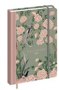 Kalendarz książkowy B6 Orient 2021 (92889)