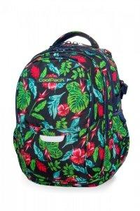 Plecak CoolPack FACTOR w czerwone kwiaty, CANDY JUNGLE (B02016)