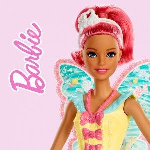 Ręcznik dziecięcy MAGICZNY Barbie 30 x 30cm (BARB203005)