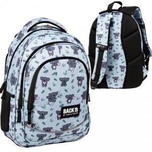 Plecak szkolny młodzieżowy BackUP 26 L KOALA (PLB3X15)