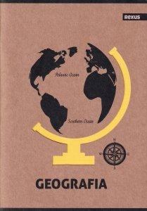 Zeszyt tematyczny przedmiotowy A5 58 kartek w kratkę GEOGRAFIA EKO (98423)