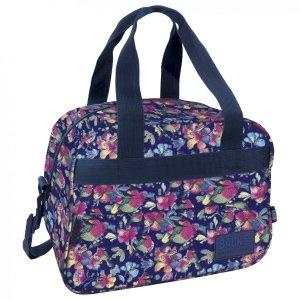Torba podróżna, sportowa Back UP pastelowe kwiaty SPRING (TPB1A4)