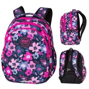 Plecak wczesnoszkolny CoolPack JOY S 21L kwiatki, BLOOM (D048320)