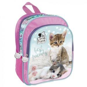 Plecak przedszkolny wycieczkowy CLEO & FRANK Kotek (PL11CF21)