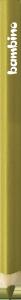 KREDKA TRÓJKĄTNA BAMBINO w oprawie drewnianej ZŁOTA (03745)