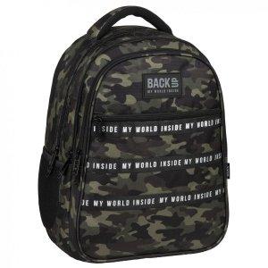 Plecak szkolny młodzieżowy BackUP 28 L MORO (PLB3I22)